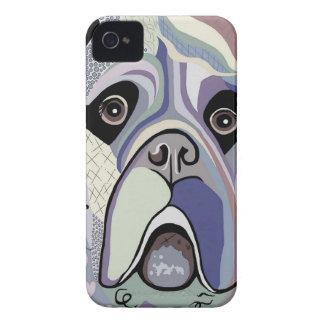 Coque iPhone 4 Mastiff dans des couleurs de denim