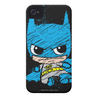 Coque iPhone 4 Mini croquis de Batman