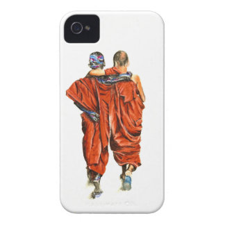 Coque iPhone 4 Moines bouddhistes