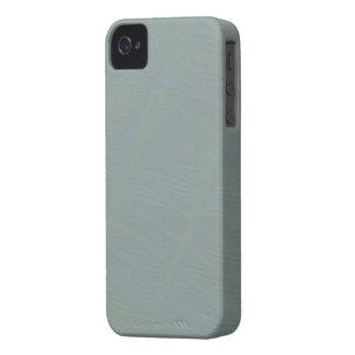 Coque iPhone 4 Motif abstrait subtil vert clair