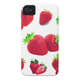 Coque iPhone 4 Motif de fruit de fraise