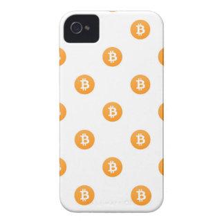 Coque iPhone 4 Motif de logo de Bitcoin