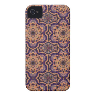 Coque iPhone 4 Motif floral ethnique abstrait coloré de mandala