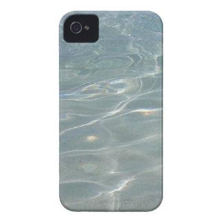 Coque iPhone 4 Nature des Caraïbes de bleu d'abrégé sur l'eau