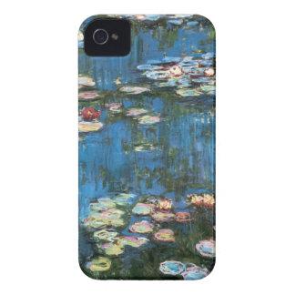 Coque iPhone 4 Nénuphars par Claude Monet, impressionisme vintage