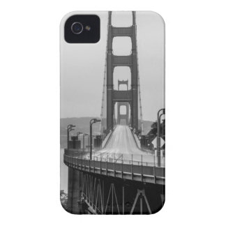 Coque iPhone 4 Obscurité unique de vue de San Francisco golden