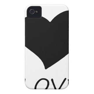 Coque iPhone 4 paix love18