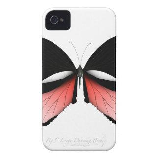 Coque iPhone 4 papillon de rouge de la figue 5 par les fernandes