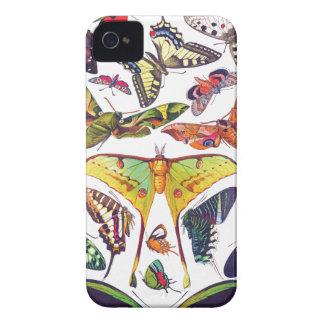Coque iPhone 4 Papillons vintages