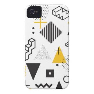 Coque iPhone 4 Pattern-10 géométrique