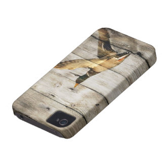 Coque iPhone 4 Pays occidental en bois de grange rustique