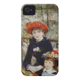 Coque iPhone 4 Pierre un Renoir | deux soeurs, ou sur la terrasse