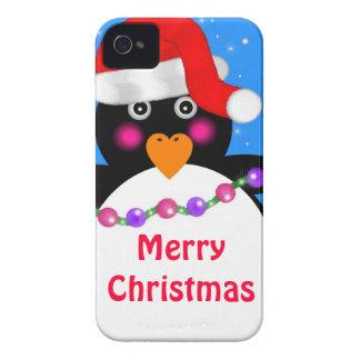 Coque iPhone 4 Pingouin de vacances