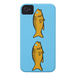 Coque iPhone 4 poissons nageant