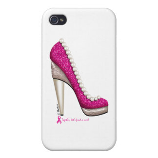Coque iPhone 4 Pompe de perle de parties scintillantes de