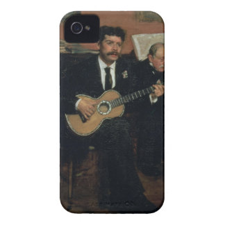 Coque iPhone 4 Portrait d'Edgar Degas | des païens de Lorenzo