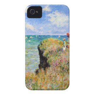 Coque iPhone 4 Promenade de Clifftop chez Pourville - Claude