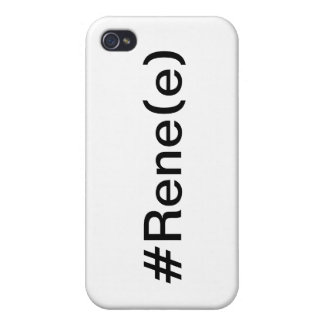 Coque Iphone 4 #Rene(e)