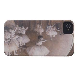 Coque iPhone 4 Répétition de ballet d'Edgar Degas | sur l'étape,