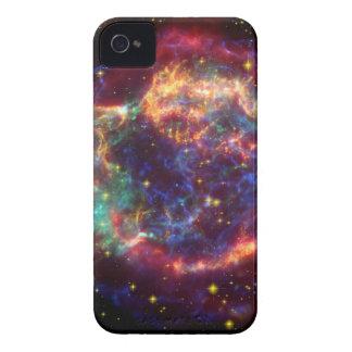 Coque iPhone 4 Reste de supernova de galaxie de Cassiopeia