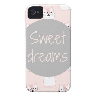 Coque iPhone 4 Rêves doux avec des chats