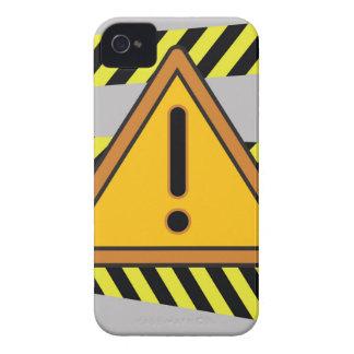 Coque iPhone 4 signe de danger