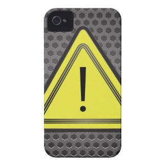 Coque iPhone 4 Signe jaune