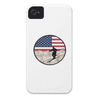 Coque iPhone 4 Ski Amérique