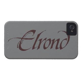 Coque iPhone 4 Solide nommé d'ELROND™