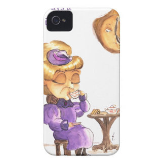 Coque iPhone 4 Tea Time Wicked Witches