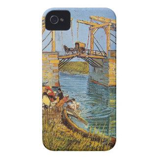 Coque iPhone 4 Van Gogh Vincent - le pont de Langlois