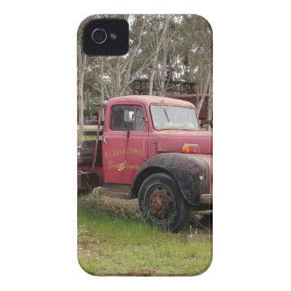 Coque iPhone 4 Vieux camion rouge
