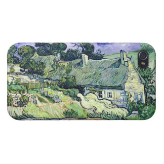 Coque iPhone 4 Vincent van Gogh | a couvert des cottages de