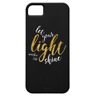 Coque iPhone 5 5h16 de Matthew - brillez votre lumière