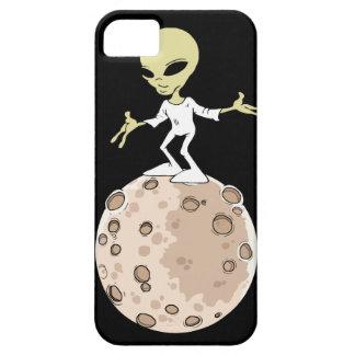 """Coque Iphone 5, 5S et SE """"Alien sur planète"""""""