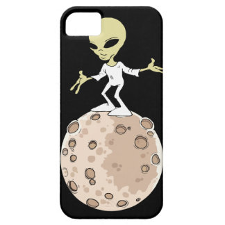 "Coque Iphone 5, 5S et SE ""Alien sur planète"" iPhone 5 Case"