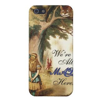 Coque iPhone 5 Alice au pays des merveilles