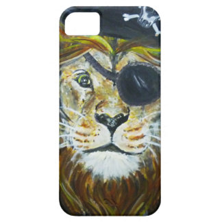 Coque iPhone 5 Art de pirate de lion
