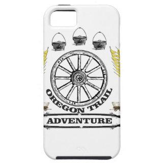 Coque iPhone 5 aventure de traînée de l'Orégon