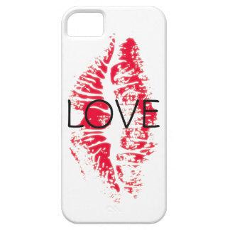 Coque iPhone 5 Baiser de cas de téléphone d'amour