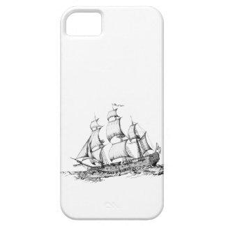 Coque iPhone 5 bateaux sur l'eau