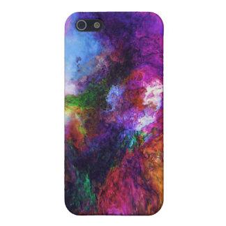 Coque iPhone 5 Caisse de point de remous de couleur