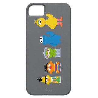 Coque iPhone 5 Caractères de Sesame Street de pixel