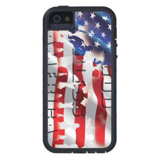 Coque iPhone 5 Cas dur très patriotique de l'iPhone 5 de G.B.A
