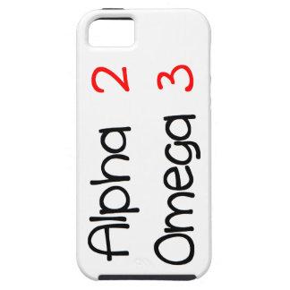 Coque iPhone 5 Case-Mate alpha omega