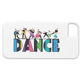 Coque iPhone 5 Case-Mate Amusement et danse rayée colorée de danseurs