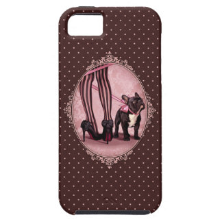 Coque iPhone 5 Case-Mate Attachée à mon Bouledogue Français