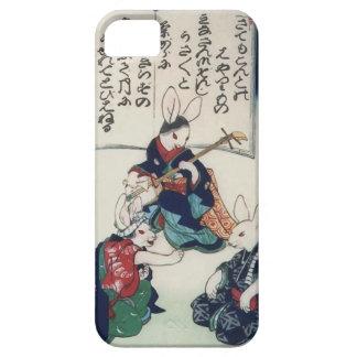 Coque iPhone 5 Case-Mate beaux-arts épidémiques de Kuniyoshi de lapin de