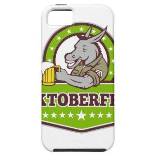 Coque iPhone 5 Case-Mate Buveur de bière d'âne Oktoberfest rétro