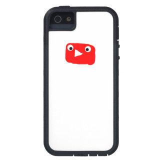 Coque iPhone 5 Case-Mate Caisse mignonne de Se d'iPhone de logo de Youtube